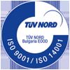 Сртификат TUV ИНДУСТРИАЛ ПАК - Опаковане и индустриално оборудване